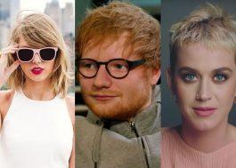 Ed Sheeran não quer se meter no drama Taylor Swift v. Katy Perry