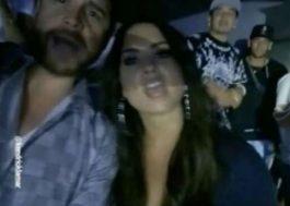 Demi Lovato aparece com Neymar em show de Kendrick Lamar