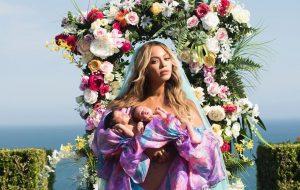 Um paparazzi conseguiu fazer o primeiro flagra dos gêmeos da Beyoncé