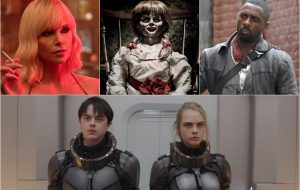 """""""Valerian"""" e outros 12 filmes que estreiam nos cinemas em agosto"""