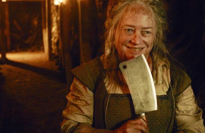 AMERICAN HORROR STORY: ROANOKE -- Pictured: Kathy Bates as Butcher. CR: Frank Ockenfels/FX