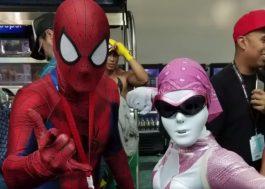 Lupita Nyong'o enganou todo mundo como a Ranger Rosa na Comic-Con!