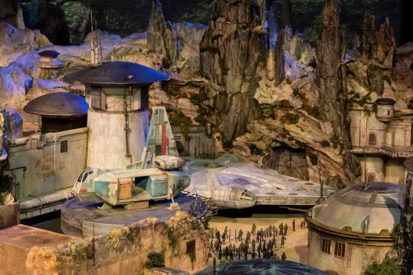 maquete star wars land 4