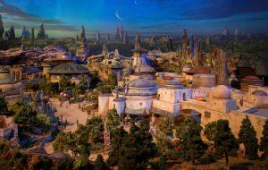"""Disney mostra maquete incrível do parque de """"Star Wars"""""""
