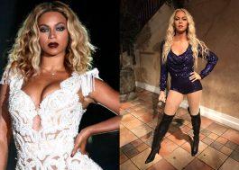 """""""É culpa da luz!"""" Museu explica estátua de cera bizarra de Beyoncé"""