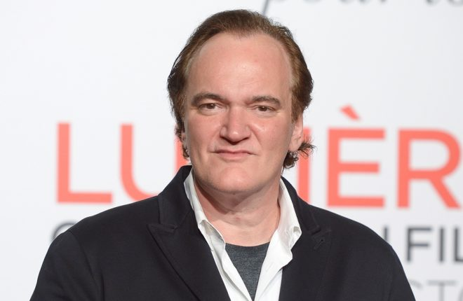 LYON, FRANCE - OCTOBER 08:  Quentin Tarantino attends the opening ceremony of the 8th Lumiere Film Festival in Lyon on October 8, 2016 in Lyon, France.  (Photo by Dominique Charriau/Getty Images)