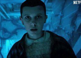 """Eleven viva e muito terror nesse trailer de """"Stranger Things"""" ao som de """"Thriller"""" do Michael Jackson!"""