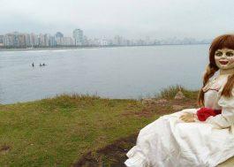 Eu tô morrendo com essa tour da Annabelle em Santos… Que fotos são essas?