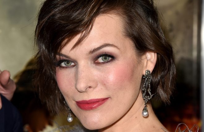 "LOS ANGELES, CA - JANUARY 23:  Actress Milla Jovovich arrives at the premiere of Sony Pictures Releasing's ""Resident Evil: The Final Chapter"" at the Regal L.A. Live Theatres on January 23, 2017 in Los Angeles, California.  (Photo by Kevin Winter/Getty Images)"