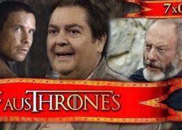 """O Faustão narrando os episódios de """"Game of Thrones"""" é apenas maravilhoso"""