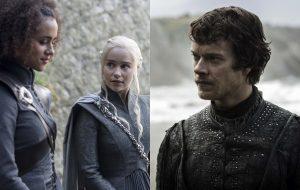 """Daenerys conversando e Theon de volta nas fotos do quarto episódio de """"Game of Thrones"""""""