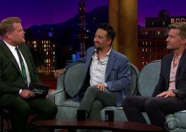 """Lin-Manuel Miranda e James Corden estão prontos para musical de """"Game of Thrones"""""""