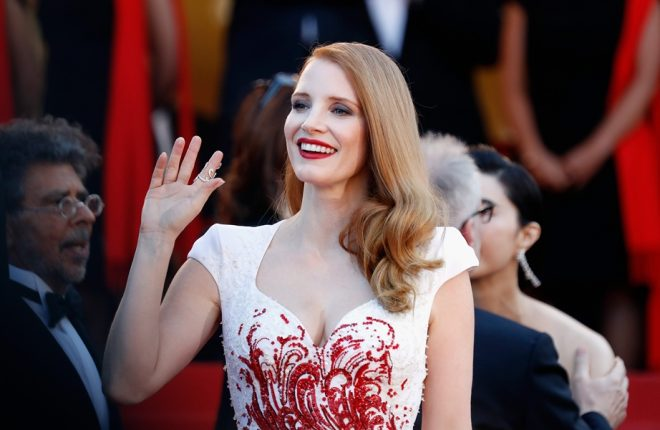 CANNES, FRANCE - MAY 28:  Jury member Jessica Chastain attends the Closing Ceremony of the 70th annual Cannes Film Festival at Palais des Festivals on May 28, 2017 in Cannes, France.  (Photo by Tristan Fewings/Getty Images)