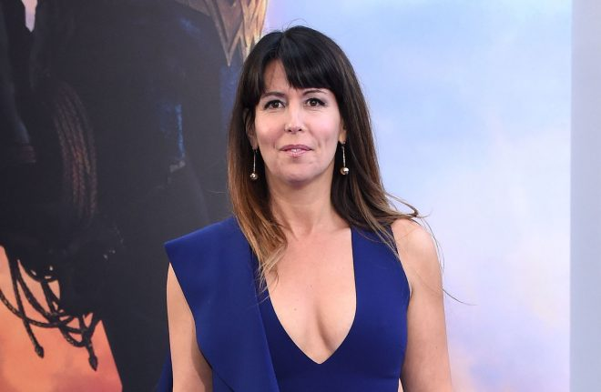 Mandatory Credit: Photo by SilverHub/REX/Shutterstock (8846700as) Patty Jenkins Wonder Woman premiere, Pantages Theatre, Los Angeles, USA - 25 May 2017 WEARING SOLACE LONDON