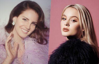 Lana e Zara Larsson no Lolla!