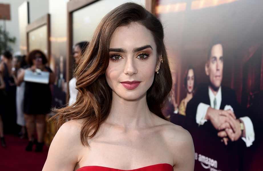 Lily collins cumshot, sex position picture guide