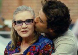 """Oscar Isaac diz que sempre dançava com Carrie Fisher nos cenários do novo """"Star Wars"""""""