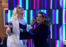 """Preta Gil e Pabllo Vittar apresentam """"Decote"""" ao vivo na TV"""