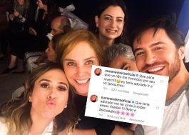 Susana Vieira, chateada por ficar de fora do aniversário da Tatá Werneck, foi lamentar no Instagram