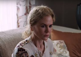 Alguém faz essa menina parar de cantar Ellie Goulding neste trailer com a Nicole Kidman?
