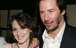 Winona Ryder e Keanu Reeves farão comédia romântica