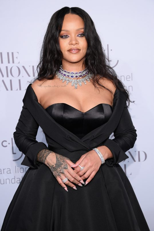 NEW YORK, NY - SEPTEMBER 14:  Rihanna attends Rihanna's 3rd Annual Diamond Ball Benefitting The Clara Lionel Foundation at Cipriani Wall Street on September 14, 2017 in New York City.  (Photo by Dimitrios Kambouris/Getty Images for Clara Lionel Foundation)
