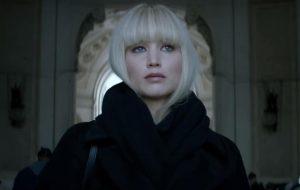 """Jennifer Lawrence é uma assassina sedutora no trailer de """"Operação Red Sparrow"""""""