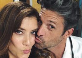 Derek Shepherd e Addison Montgomery estão juntos novamente nessa foto linda!