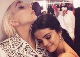 """Lady Gaga manda mensagem para Selena Gomez: """"Inspiração"""""""