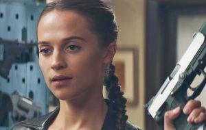 """Alicia Vikander está maravilhosa como Lara Croft! Vem ver o primeiro trailer de """"Tomb Raider"""""""