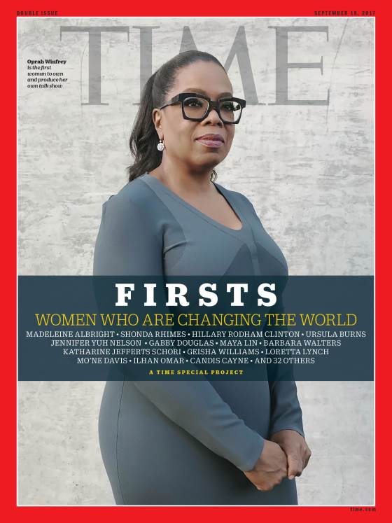oprah winfrey time