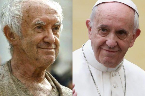 papa francisco jonathan pryce comparacao
