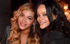 Beyoncé e JAY-Z prestigiam Rihanna no Diamond Ball