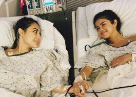 Selena Gomez precisou de transplante de rim e a doadora foi sua melhor amiga