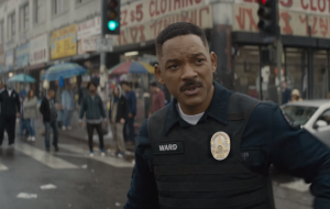 "Will Smith está lutando contra o crime no mundo fantástico no novo trailer de ""Bright"""