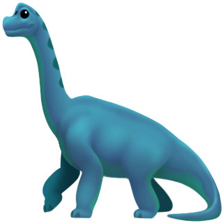 emoji dinossauro