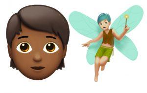 Apple vai lançar emojis de gênero neutro, criaturas, novas expressões e mais