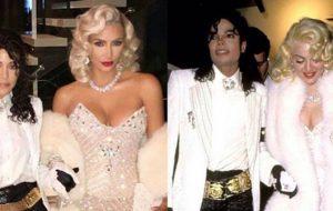 Kim e Kourtney como Madonna e Michael, e mais fantasias dos famosos no Halloween