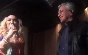 Encontro da realeza: Madonna apresenta Caetano Veloso em show em casamento