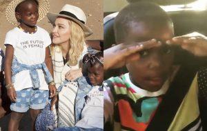 As filhas da Madonna tão aprendendo português ouvindo MC Kevinho!