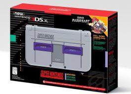 A Nintendo vai lançar um 3DS estilizado de Super Nintendo com o clássico Mario Kart!