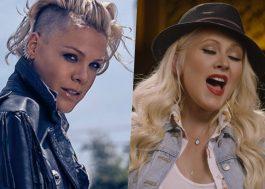 P!nk conta que Christina Aguilera já tentou socá-la numa boate!