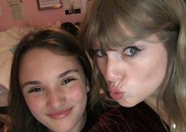 """Taylor Swift faz o Gugu e """"invade"""" casa de fã"""