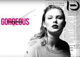 """Taylor Swift tá impactada com a beleza do boy em nova música; ouça """"Gorgeous"""""""