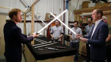 Família Real em Os Últimos Jedi