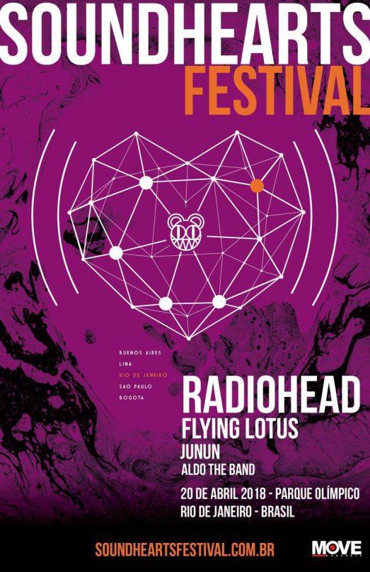 Radiohead Far 225 Shows No Brasil Em 2018 Boa Informa 231 227 O