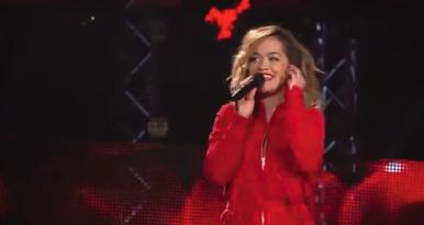 Rita Ora se arrisca no The Voice