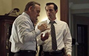 "Kevin Spacey estaria obcecado pelo Meechum de ""House of Cards"""