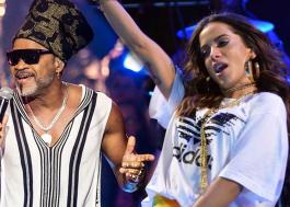 """Carlinhos Brown lança música com Anitta chamada """"Africanitta""""; vem ouvir!"""