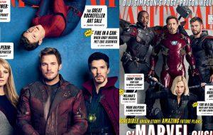 """Cenas de """"Vingadores: Guerra Infinita"""" vazam na internet + fotos oficiais dos heróis na Vanity Fair"""
